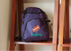 Little Kids Personalized Toploader Backpack