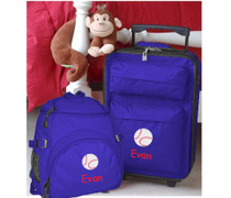 Kids Travel Zone 3 Piece Luggage Set