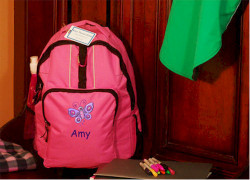 Personalized Kids Rolling Backpack