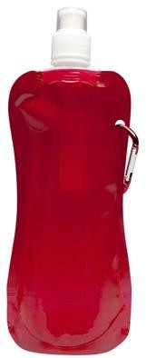 Kids Foldable Water Bottle for School and Travel in Red