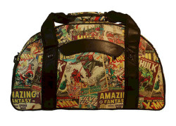 Marvel Comic Duffel Bag
