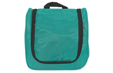 Kids Hanging Toiletry Bag in teal