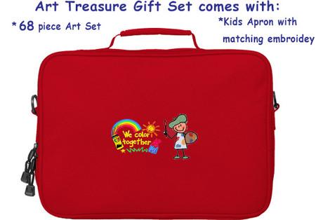 Red Art Gift Set