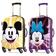 Mickey and Minnie Mouse Luggage