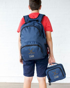 Student Backpack Lunch Box Combo