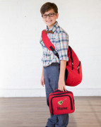 Sling Backpack Lunch Box Combo