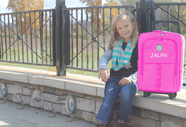 Special Girl Pink Carry-on