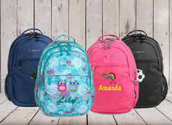 My School Backpack samples