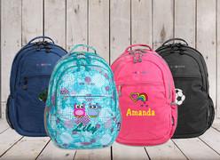My School Backpack samples