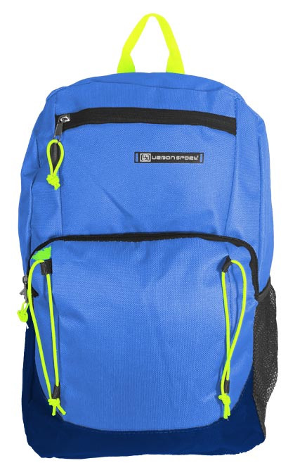 Kids Urban Sport Backpack in Royal/Lime
