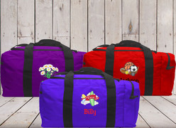 Kids Square Duffel Samples