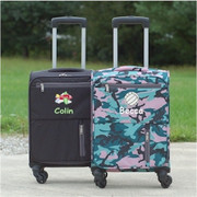 Kids 4 Wheel Carry-On Camo and Black