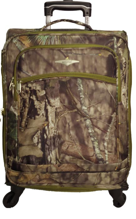 Kids Mossy Oak 4 wheel Carry-On
