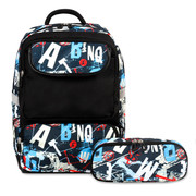 Sprouts Kids Backpack in Graffiti pattern