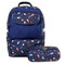 Sprouts Kids Backpack in Spaceship pattern
