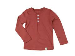 Henley Long Sleeve Terracotta