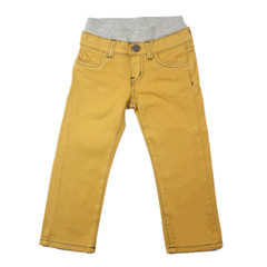 Twill Pants - Mustard