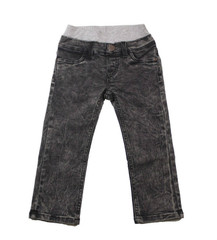 Black Mineral Wash Denim