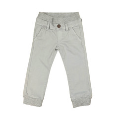 Twill Jogger Pants - Light Grey