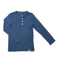 Henley Long Sleeve - Teal