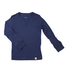 Crew Long Sleeve - Navy