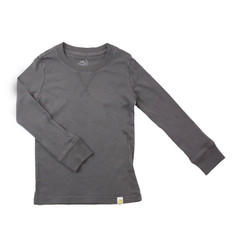 Crew Long Sleeve - Charcoal