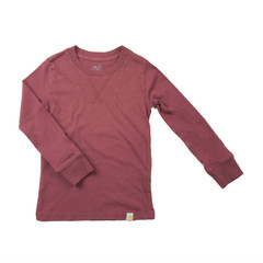 Crew Long Sleeve - Rusty Red