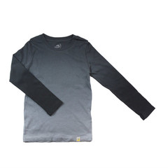 Basic Long Sleeve - Ombre Charcoal