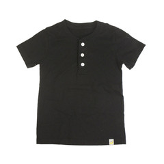 Henley T-Shirt - Black