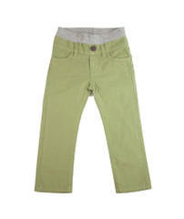 Poplin Pants - Sage Green Garment Dyed
