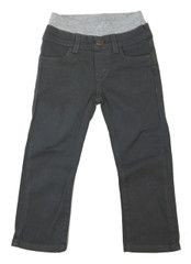 Garment Dyed Twill Pants - Charcoal