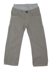 Garment Dyed Twill Pants - Taupe