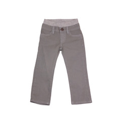Poplin Pants - Steel Grey Garment Dyed