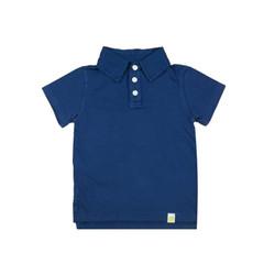 Organic Cotton Polo - Navy