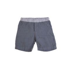 Organic Linen Shorts - Navy