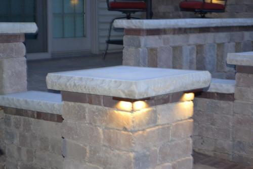 Quot Cornelius Quot Corner Pillar Cap Led Light Sek Surebond