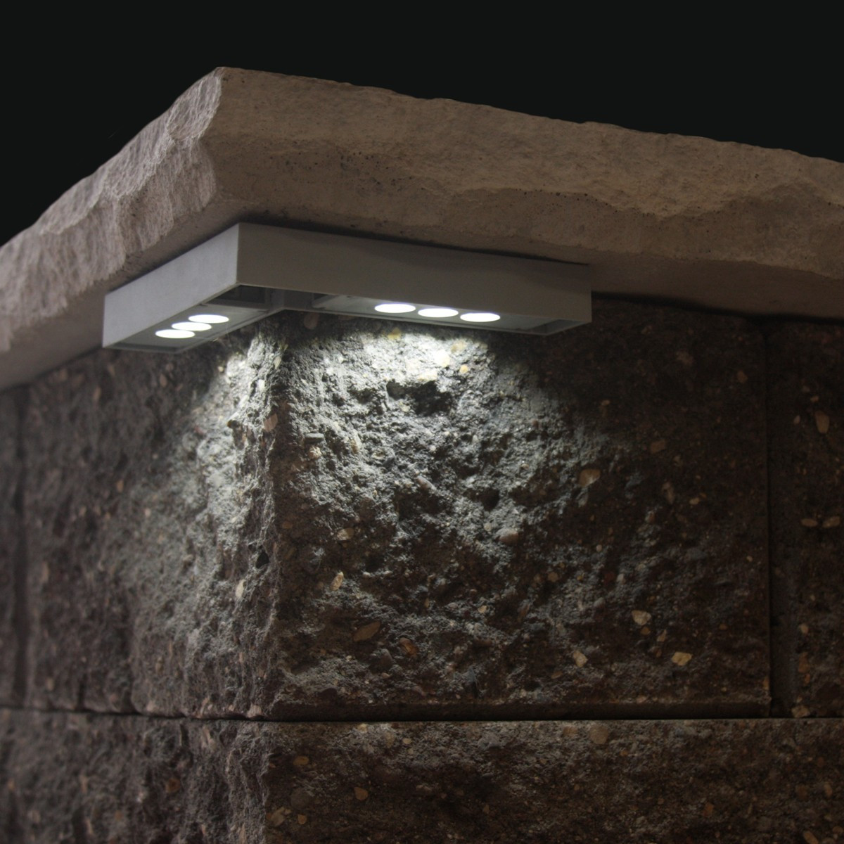 Quot Cornelius Quot Corner Pillar Cap Led Light Installed