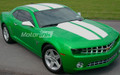 2010-2013 Chevy Camaro Rally Racing Stripes Hood Roof and Trunk
