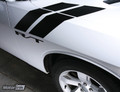 2008-2014  Dodge Challenger Fender Side Hash Stripes Racing Sport Decals