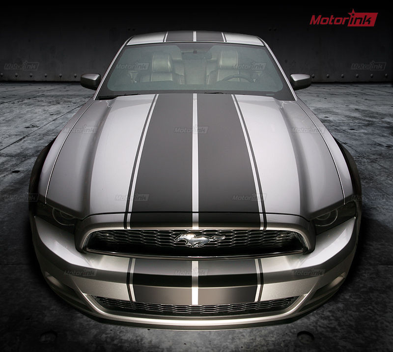 2013 2014 Ford Mustang Double Rally Racing Sport Over The