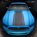 2010-2014 Ford Mustang Mach1 Style Hood Decal Stripe