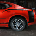 2006-2010 Dodge Charger DAYTONA Quarter Panel Side C Stripes kit