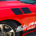 2013 2014 2015 2016 Ford Mustang Fender Side Hash Racing Rally Sport Stripes Decals