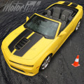 2014-2015 Chevy Camaro Convertible Coupe SS Rally Racing Stripes Hood & Trunk