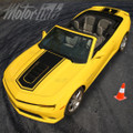 2014-2015 Chevy Camaro Convertible Solid Center Rally Racing Stripes SS Hood 3M