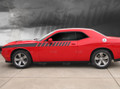 2015 2016 2017  Dodge Challenger Side Fender Strobe Half Length Racing Stripes Decals