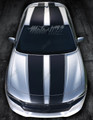 2015 2016 2017 2018 Dodge Charger Rally Racing Stripes Hood & Roof Trunk Vinyl Decals
