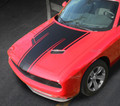 2015 2016 2017 Dodge Challenger Hood Pinstripe Blackout Decal Stripe Racing 3M