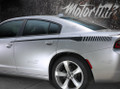 2015 2016 2017 2018 Dodge Charger Rear Quarter Strobe Bodyline Side Stripes Decals