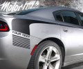 2015 2016 2017 2018 Dodge Charger Rear Quarter Panel Hockey Side Stripes decals Rally